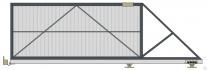 Откатные ворота DoorHan с приводом SLIDING 500 KIT